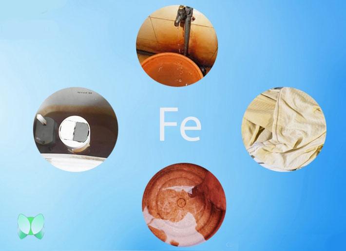 Nước sinh hoạt bị nhiễm phèn sắt