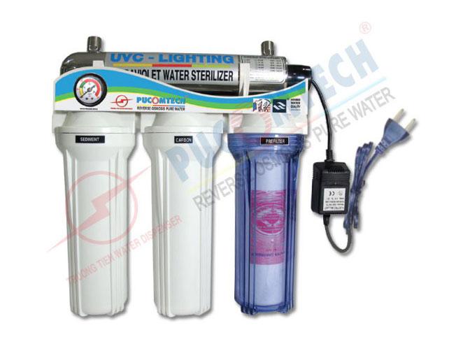 Bộ lọc nước 3 cấp lọc CP3UV
