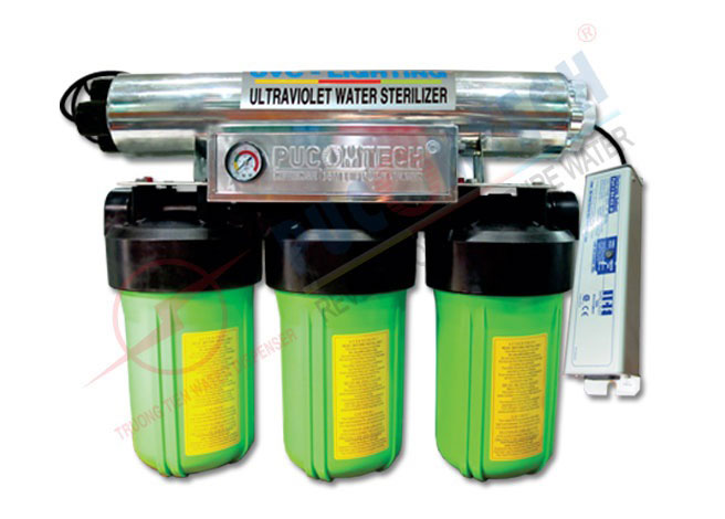 Bộ lọc nước đầu nguồn 3 cấp lọc TT3UVBIG
