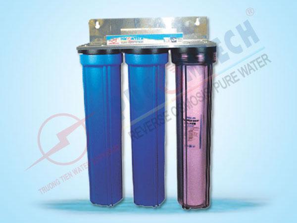 Bộ lọc nước sinh hoạt 3 cấp lọc PU3